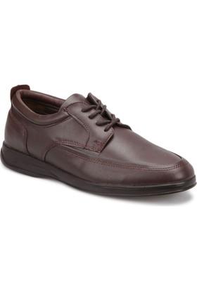 Polaris 72.109416.M Kahverengi Erkek Klasik Ayakkabı