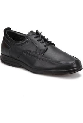 Polaris 72.109416.M Siyah Erkek Klasik Ayakkabı