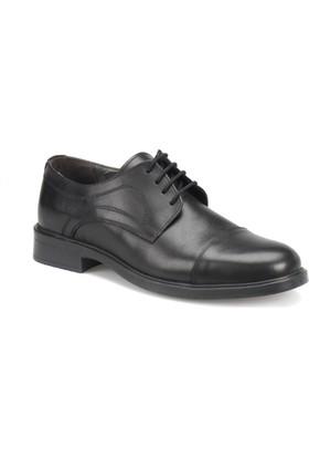 Garamond 638 Siyah Erkek Deri Klasik Ayakkabı