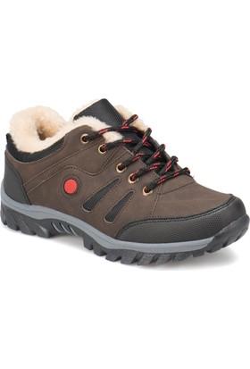 I Cool Ic124 Kahverengi Erkek Çocuk Outdoor Ayakkabı