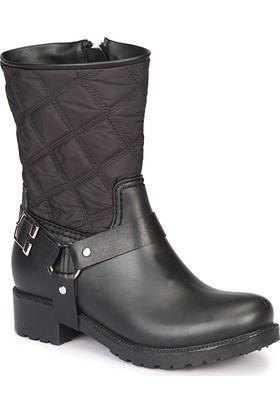 Dockers By Gerli 223598 Siyah Kadın Yağmur Çizmesi