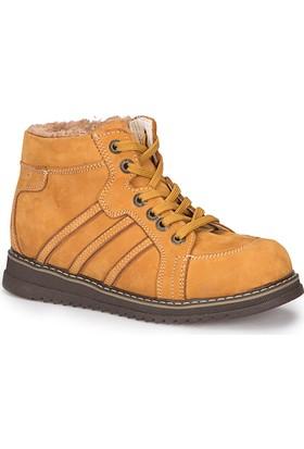 Polaris 72.509761.F Camel Erkek Çocuk Deri Sneaker Ayakkabı