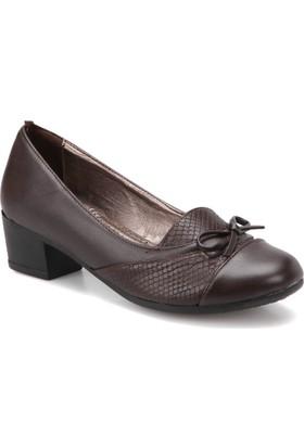 Polaris 72.158105.Z Kahverengi Kadın Gova Ayakkabı