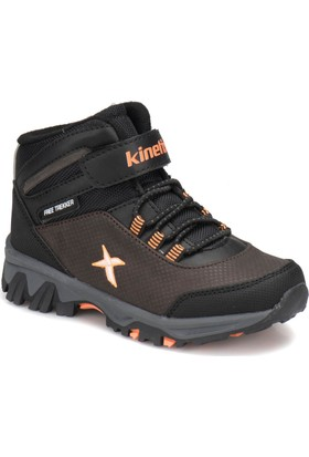 Kinetix Roha Kahverengi Turuncu Erkek Çocuk Outdoor Ayakkabı