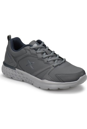 Kinetix Mıxo Pu Koyu Gri Açık Gri Erkek Yürüyüş Ayakkabısı