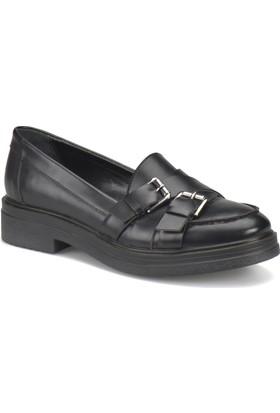 Art Bella Cw17034 Siyah Kadın Maskulen Ayakkabı