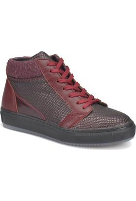 Art Bella Cw17031 Bordo Kadın Sneaker Ayakkabı