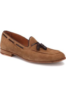 Roberto Ley 15307 Kahverengi Erkek Deri Modern Ayakkabı