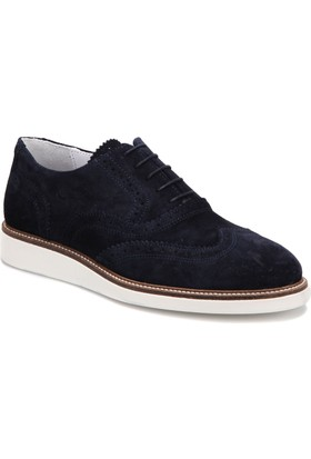 Ambitious 7047 Lacivert Erkek Deri Modern Ayakkabı