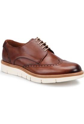 Roberto Ley 15495 Kahverengi Erkek Deri Modern Ayakkabı