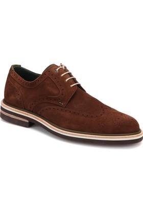 Roberto Ley 15443 Gri Erkek Deri Modern Ayakkabı