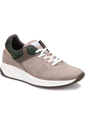 Ambitious 7198 Yeşil Bej Erkek Deri Modern Ayakkabı