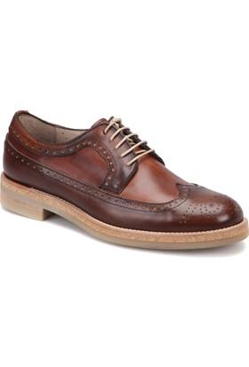 Roberto Ley 15494 Kahverengi Erkek Deri Modern Ayakkabı
