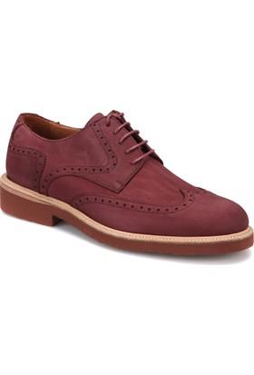 Roberto Ley 15339 Bordo Erkek Deri Modern Ayakkabı