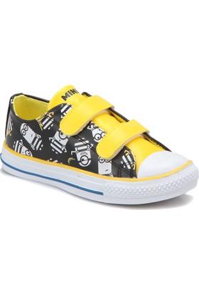 Minions Erve Siyah Erkek Çocuk Sneaker Ayakkabı