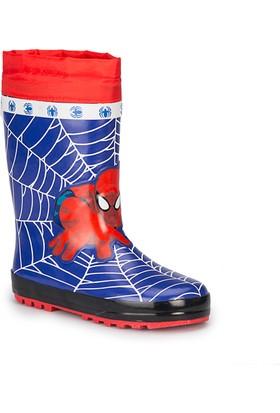 Spiderman Olgar-1 Lacivert Erkek Çocuk Yağmur Çizmesi