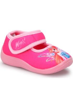 Winx Anıca-1 Fuşya Kız Çocuk Panduf