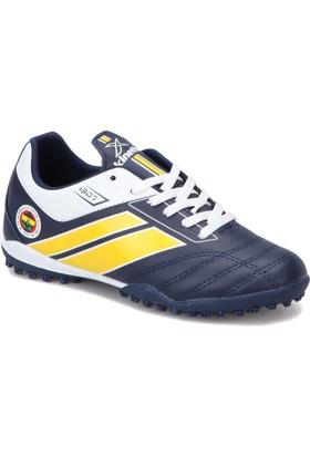 Fb Trım Turf Fb Lacivert Sarı Erkek Halı Saha Ayakkabısı