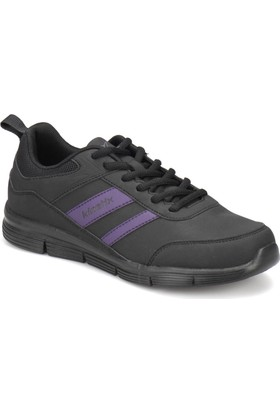 Kinetix Konta W Siyah Mor Kadın Koşu Ayakkabısı