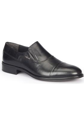 Mercedes Pıetrı Siyah Erkek Deri Ayakkabı