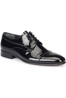 Mercedes Lınto Siyah Erkek Deri Ayakkabı