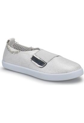Polaris 72.311072.Z Gri Kadın Ayakkabı