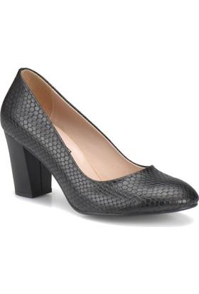 Miss F Dw17011 Siyah Kadın Basic Dress Ayakkabı