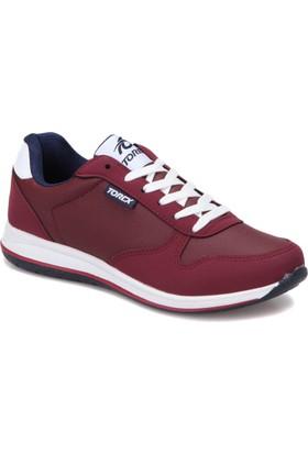 Torex Cety Pu W Bordo Erkek Sneaker Ayakkabı