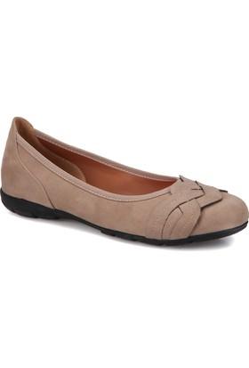 Travel Soft Trv1021 Vizon Kadın Babet Ayakkabı