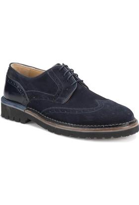 Garamond 1563 Lacivert Erkek Deri Ayakkabı