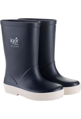 Igor W10107 -O94 Lacivert Unisex Çocuk Yağmur Çizmesi