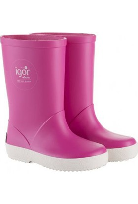 Igor W10107 -F01 Fuşya Kız Çocuk Yağmur Çizmesi