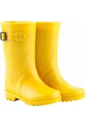 Igor W10115-F02 Sarı Unisex Çocuk Yağmur Çizmesi