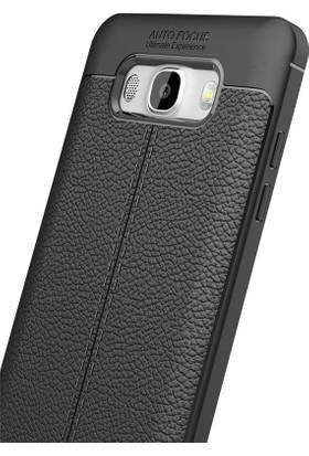Case 4U Samsung Galaxy J7 2016 Kılıf Darbeye Dayanıklı Niss Siyah