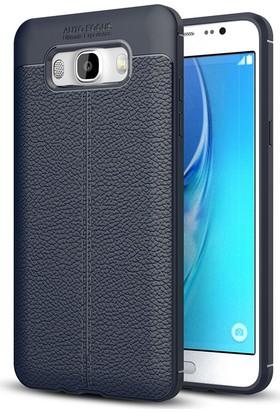Case 4U Samsung Galaxy J7 2016 Kılıf Darbeye Dayanıklı Niss Lacivert