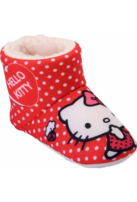 Hello Kitty 90044 Kp Kırmızı Kız Çocuk Panduf