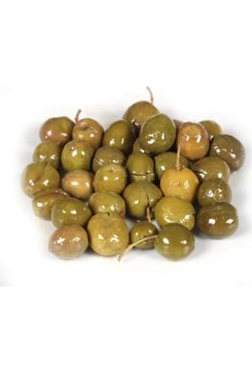 OrganikSofra Hatay Kırma Yeşil Zeytin 1 kg