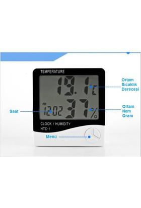 Knmaster Htc-1 Saatli Nem Ölçer Ve Termometre Kö1458