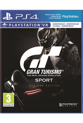 Gran Turismo Sport Day One Edition (Sony Eurasia) PS4 Oyun