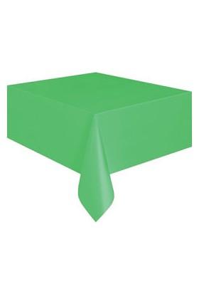 KullanAtMarket Yeşil Plastik Masa Örtüsü