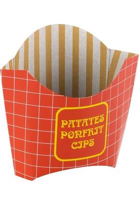 KullanAtMarket Kızarmış Patates Kutusu 50li