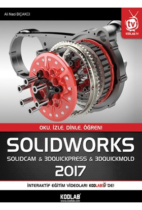 Solidworks & Solidcam 2017 - Ali Naci Bıçakcı
