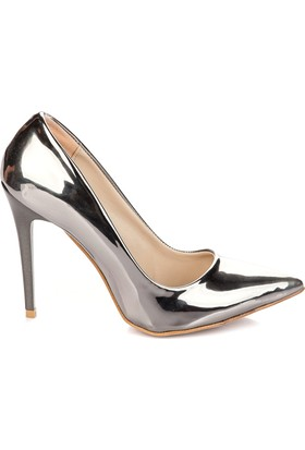 Pembe Potin Platin Ayakkabı