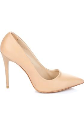Pembe Potin Karemel Ayakkabı
