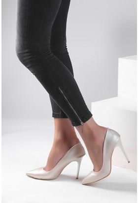Pembe Potin Lame Ayakkabı