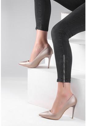 Pembe Potin Bakır Ayakkabı