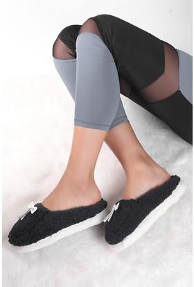 Pembe Potin Lacivert Ev Ayakkabısı