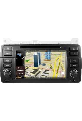 Bmw E-46 Multimedya Navigasyon Dvd Kamera Bluetooth