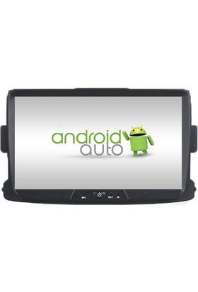 Dacia Duster 2014-2015-2016 Android Multimedya Navigasyon Kamera Bluetooth Dvd