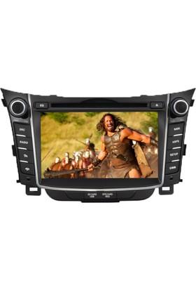 Hyundai İ30 Multimedya Navigasyon Kamera Bluetooth Televizyon